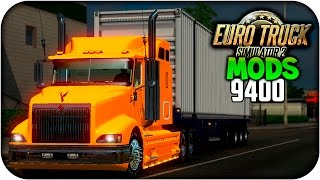 International 9400  | Euro truck simulator 2 | 1.21 - 1.22