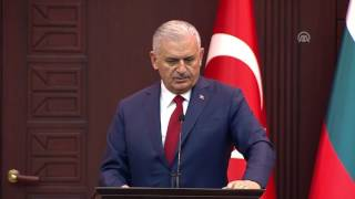 Başbakan Yıldırım: AB referandum döneminde ilişkiler açısından çok iyi bir sınav vermedi