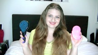 getlinkyoutube.com-Hair 'Brush Off' Tangle Teezer Vs Michel Mercier