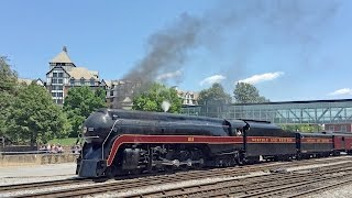 getlinkyoutube.com-Norfolk & Western #611 -- Roanoke excursions