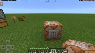 getlinkyoutube.com-Minecraft PE 0.15.0 Redstone Plus Mod Dispensadores Bloques de Comando Slime y mas, mods como pc