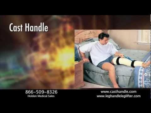 Cast Handle Leg Lifter for Leg Casts and Braces-