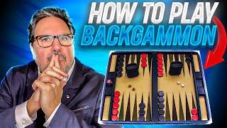 getlinkyoutube.com-How To Play BACKGAMMON!     Super Easy!