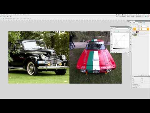 Photoshop CS5 Livelli di Regolazione - Curve, Maschera di Livello, Maschera di Ritaglio