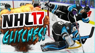getlinkyoutube.com-NHL 17 Funny Glitches, Moments & Hits! (Doc The Comedian) #7