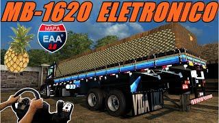 getlinkyoutube.com-MB-1620 ELETRÔNICO CARREGANDO ABACAXI - MAPA EAA 3.0, VOLANTE G27!!!