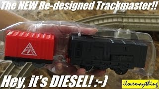 getlinkyoutube.com-Thomas & Friends: Unboxing the NEW Trackmaster DIESEL