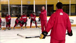 getlinkyoutube.com-NHL Skills: Forechecking From Canadian Tire Hockey School