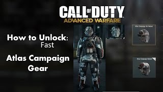 getlinkyoutube.com-How to unlock Atlas Campaign Armor fastest method! Call of Duty Advanced Warfare!