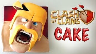 getlinkyoutube.com-CLASH OF CLANS CAKE   Ann Reardon How To Cook That barbarian cake