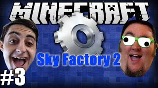 getlinkyoutube.com-Minecraft Sky Factory 2 With @TheGiantWaffle! Ep 3