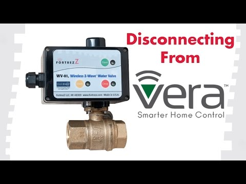 How to Exclude Devices From Vera: FortrezZ Wireless Water Valve