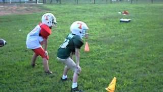 getlinkyoutube.com-Biggest Football Hit ever by a 8 yr old