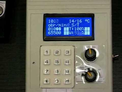 Sterownik silnika prądu stałego (Tryb klawiaturowy)