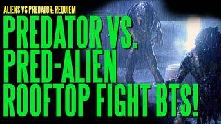 getlinkyoutube.com-AVPR Predator Vs Pred-Alien Rooftop Fight