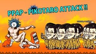 getlinkyoutube.com-PPAP - PIKOTARO ATTACK !! Battle Cats PPAP ピコ太郎 性能介紹 냥코대전쟁 피코타로 무리의 습격