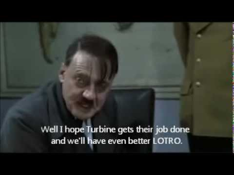 Hitler is impatient with downtime of LOTRO