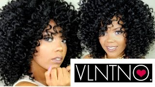 getlinkyoutube.com-THE PERFECT CURLY FRO THO!!! | MY SIGNATURE #CROCHETWIG | TASTEPINK