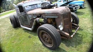 getlinkyoutube.com-Diesel Rat Rod Truck