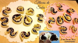 getlinkyoutube.com-RICETTA SARDA PER PASQUA : TILICCAS DE SABA o Caschettas| Recipe for Easter |ft.Arte Manualidades