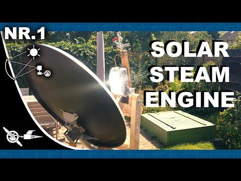 Solar Steam Engine