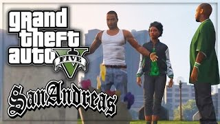 "GTA 5: San Andreas Intro Remade ""Grove Street 4 Life!"" (GTA V Gameplay Machinima)"