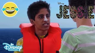 getlinkyoutube.com-Jessie - Rossed At Sea - Let The Voyage Begin! - Official Disney Channel UK HD