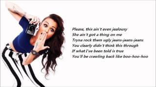getlinkyoutube.com-Cher Lloyd - Want U Back /\ Lyrics On A Screen