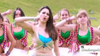 Tamanna - Massive navel show and hot expressions slow-mo HD