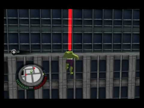 The Incredible Hulk Movie Game Walkthrough Part 28 wii