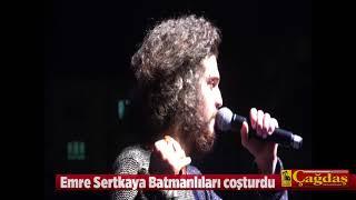 O Ses Türkiye birincisi Emre Sertkaya Batman'da konser verdi