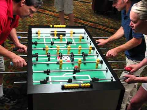Mixed Doubles game 1 2011 Texas State Foosball Championships