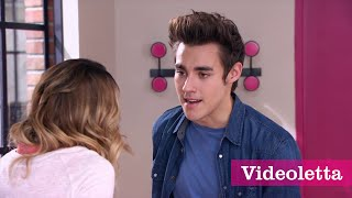 """getlinkyoutube.com-Violetta 3 English: Vilu sings """"Underneath it all"""" and Leon comes in Ep.51"""