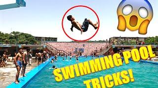 getlinkyoutube.com-SWIMMING POOL TRICKS 2016!!