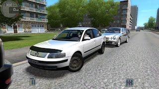 getlinkyoutube.com-City Car Driving 1.4.1 VW Passat B5 2000 [G27]