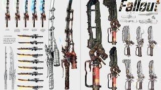 getlinkyoutube.com-Fallout 4 TOP 7 Оружие ближнего боя с модификациями.