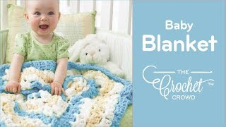 getlinkyoutube.com-How to Crochet A Baby Blanket: From the Middle