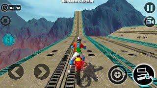 Impossible Motor Bike Tracks New Motor Bike Unlocked - Android GamePlay 2017 width=