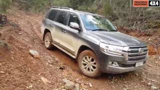 getlinkyoutube.com-2016 Toyota LandCruiser LC200 Series offroad test