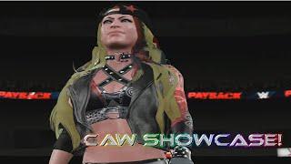 getlinkyoutube.com-WWE 2K16 ll CAW Showcase ll Skye Evanko