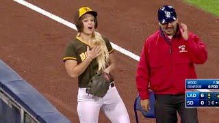 MLB   Ballgirl Awesome
