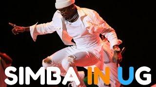 Picha za Diamond Platnumz akitumbuiza kwenye Kampala City Festival