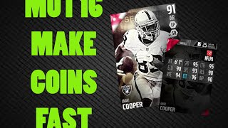 getlinkyoutube.com-HOW TO MAKE 100K COINS FAST - MUT 16 COIN MAKING GUIDE