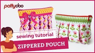 getlinkyoutube.com-zippered pouch sewing video tutorial by pattydoo