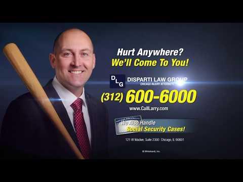Injured in a Car Wreck? Call Larry Disparti!