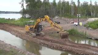 getlinkyoutube.com-Cat 336E Excavator with Add-A-Boot