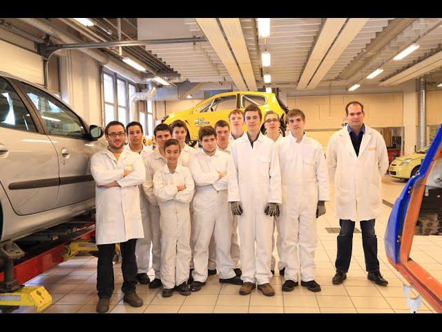 Garac UneClasse, UnProjet en carrosserie reparation peinture auto