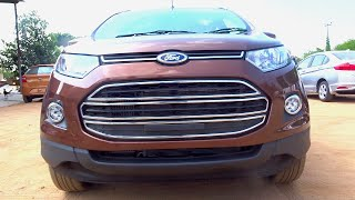 getlinkyoutube.com-#Cars@Dinos: New Ford EcoSport 2016 Review (Test Drive, Walkaround)