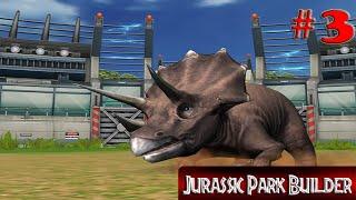 getlinkyoutube.com-Jurassic Park Builder - Triceratops In Action #3