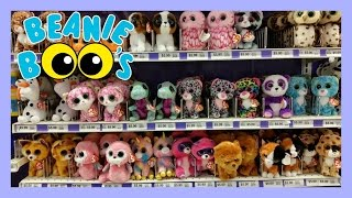 BEANIE BOO Toy HUNT Shopping At Party City- 2016